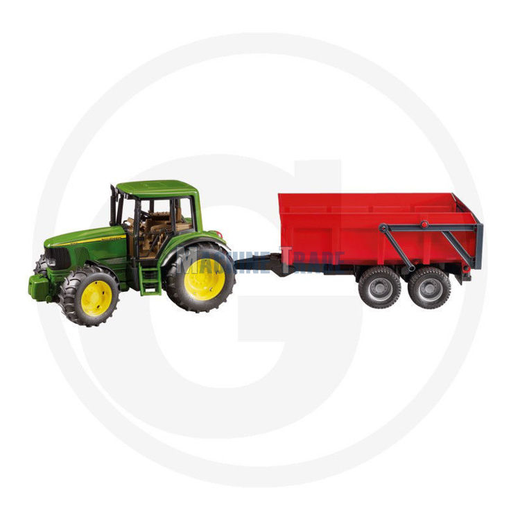 Slika Igračka JD 6920 dupli kotači + prikolica / Bruder odgovara U02058