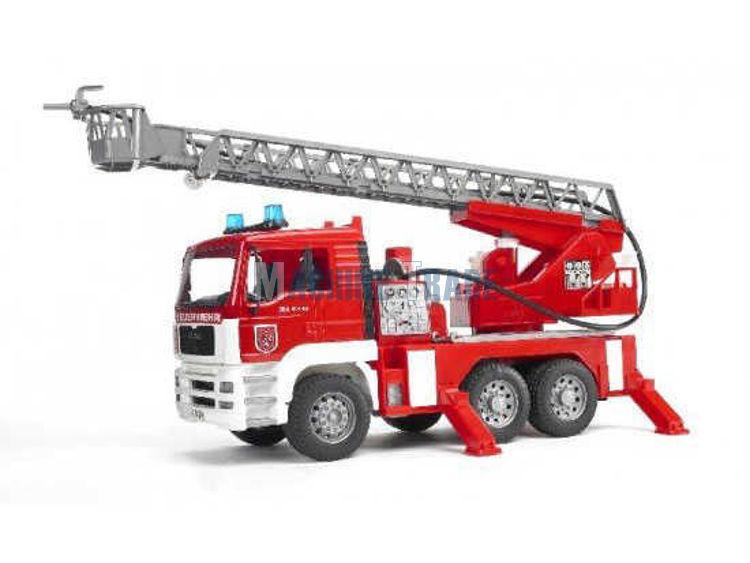 Slika Igračka MAN vatrogasni sa kranom / Bruder odgovara U02771
