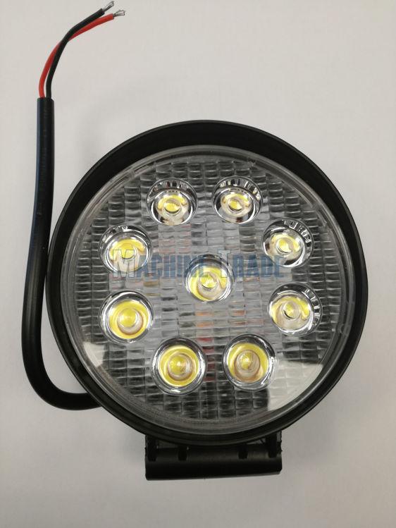 Slika LED Far radni 27W okrugli