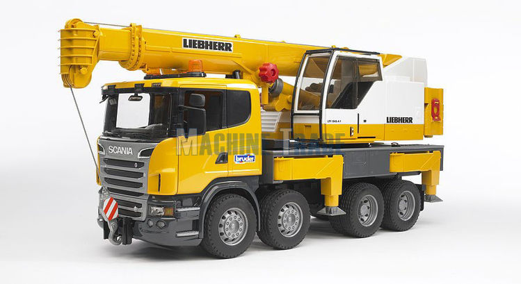 Slika Igračak kamion Scania R i Liebherr kranom